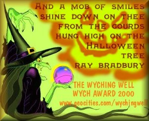 Wyching Well award